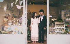 韩国旅行婚纱