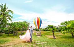 三亚APPLE视觉婚纱摄影|天涯海角|主题拍摄