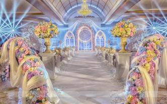 【悦百年婚礼】简洁风精致明场套系+人员+布置