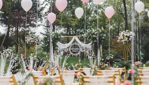 《婚礼澜山》森系户外婚礼含三大赠设计服务