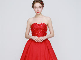 【红色】系列婚纱礼服 单件租赁