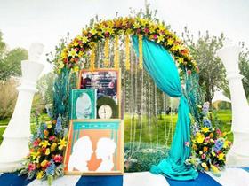【婚礼侠】户外草坪婚礼含资深婚礼人员