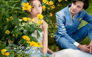 经典文艺婚纱照套系5折优惠--再减1000限时发售