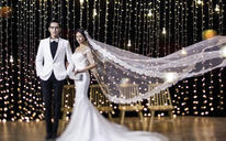 越夜越美丽 炫彩夜景婚纱照