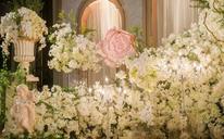 【薇莳】Come across遇见 婚礼鲜花布置