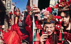《国潮风》洛可可全球旅拍-作品欣赏