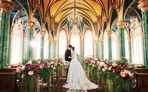 【时尚芭莎】最新主题  梦中的婚礼