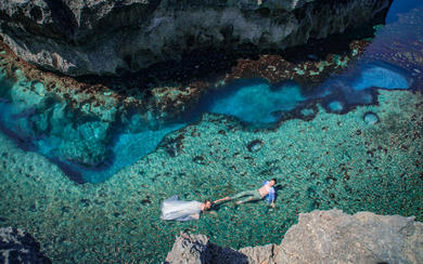 爱旅拍巴厘岛•客照欣赏•佩尼达岛暖风海岸
