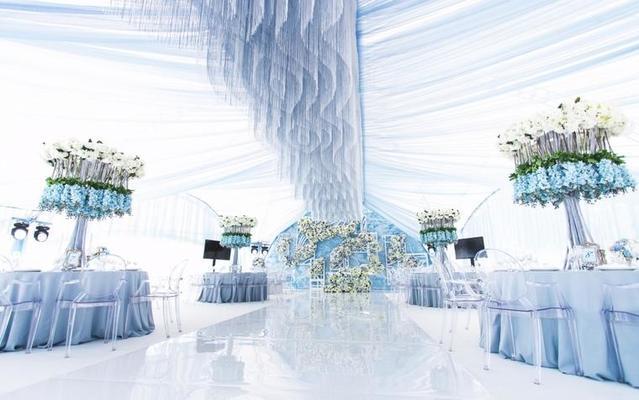 心递婚礼|清新蓝调婚礼•你的纯情