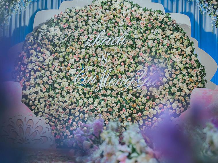 【花海婚礼】粉色乐章 · 奢华 浪漫