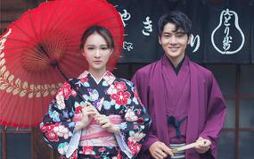 日本旅拍 180张底片全送+和服樱花+路线3选1