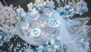 艾诺薇婚礼  户外 •蓝姑娘的梦