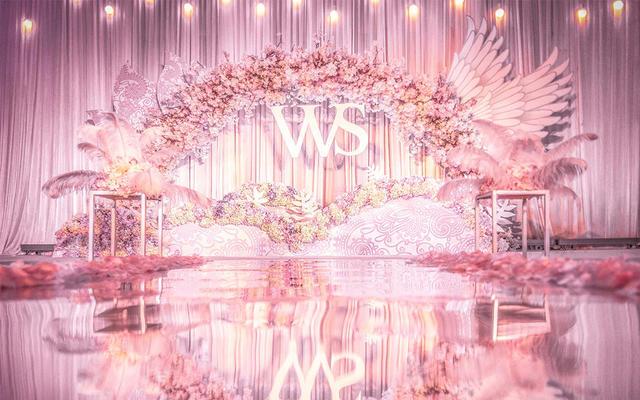 甜美  梦幻|Pink Memory:爱薇婷婚礼