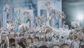 婚博会上新套餐,唯美浪漫婚礼,限时订购9999