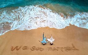 酒店+游艇出海+圣托里尼+水下婚纱+马场+包邮