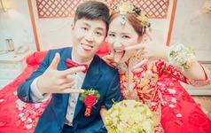 郑州婚礼跟拍——花信社婚礼摄影作品