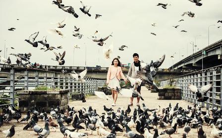 【台湾旅拍婚纱照】九份+金瓜石+阳明山+北海岸
