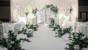 【安小静婚礼定制】你的名字白绿婚礼套餐