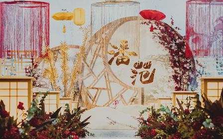 【artisan婚礼匠】新中式古风红色复古婚礼