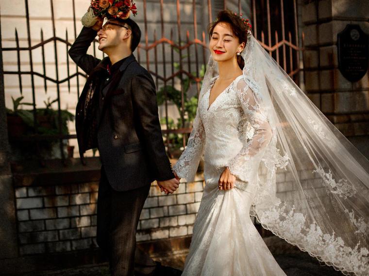 【唯美街拍婚纱摄影】天使嫁期店长推荐套系,最高性价比