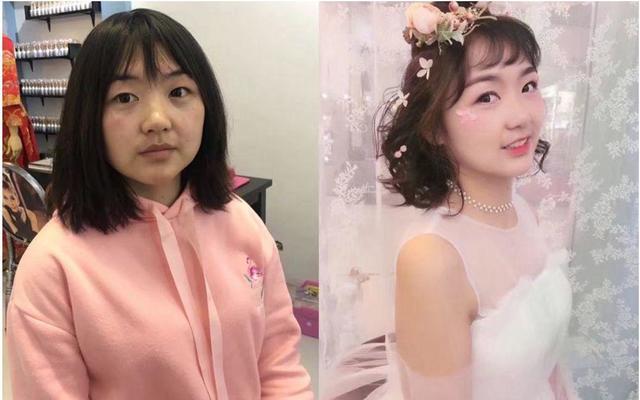 韩式森系小清新简洁唯美抽丝造型减龄妆