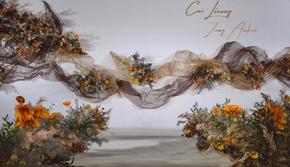 杭州婚蜜|简约优雅兼具摩登风格的泰式极简婚礼