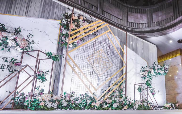 """【微纪婚礼】白绿简洁森系风""""时光流连"""""""