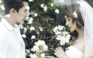 唯美韩式系列婚纱照+12服12造+全新婚纱