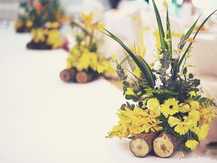 《小森系婚礼》所见即所得全鲜花包含舞美,颜色可换