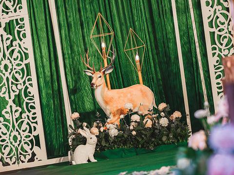 【爱莫尔婚礼】森林里的兔子先生 (包含四大金刚)