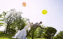 韩式清新婚纱照