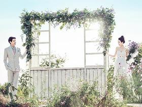 巴黎之恋-小清新婚纱照超高人气套系