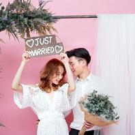 【预定花期】明星同款婚纱丨拍摄180张丨十服十造