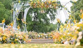 雨薇婚礼丨户外草坪婚礼 《黄柠檬香气的夏天》
