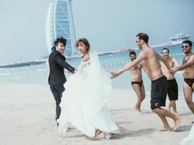 迪拜旅拍轻奢婚纱套系 签证机票酒店 微电影 一价全包
