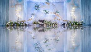 梵佐恩·一价全包·韩式蓝色·轻奢定制婚礼