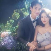 超大实景基地 梦幻之旅 唯美韩式系列婚纱