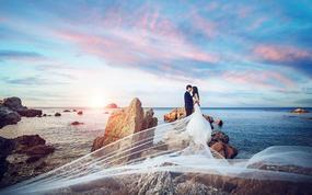 【浪漫结婚季】拍一送N+海景酒店+场景不限