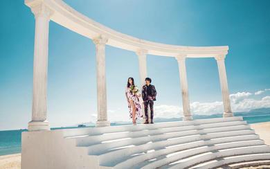 【爱拍映像】罗马柱主题创作婚纱摄影