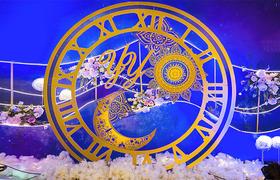 《陪伴》木朵蓝色浪漫唯美婚礼定制
