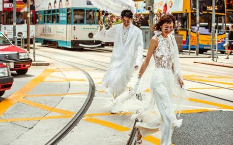 圣蒂娅丨婚纱摄影丨现代网红系列,给您不一般的体验