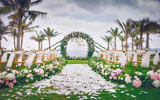 海棠湾索菲特酒店草坪婚礼