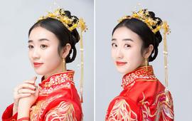 「女神必选」中式端庄唯美造型送新娘妈妈早妆