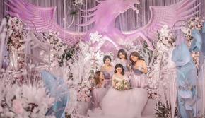 【维西婚礼】— 粉色系定制婚礼【定制免设计】