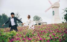 【爆款团购·个性沙滩】唯美花海+浪漫森系婚纱照