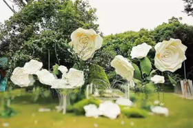 乌托邦婚礼现场 上海世博洲际的真情告白