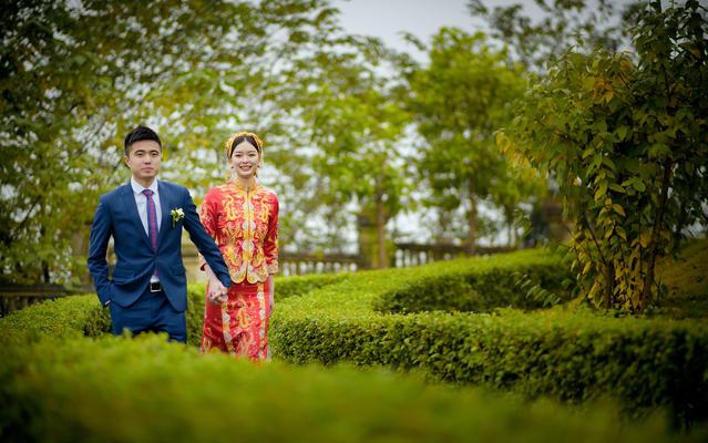 花儿映画婚礼案例亚南酒店首席单机