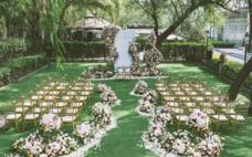 纯恋婚礼---春天的粉色户外婚礼