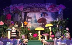爱丽丝梦游仙境 就犹如我们的婚礼梦境一般
