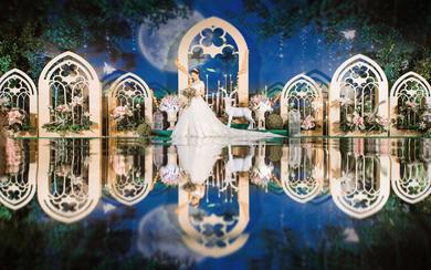 神话婚礼丨森系丨鲜花甜品